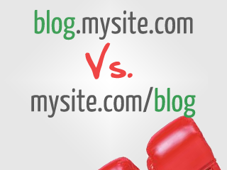 infographic which is better for your site subdomain vs