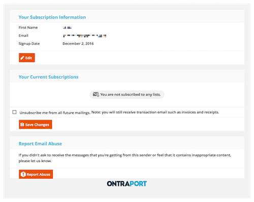 Email Deliverability with Ontraport Marketing Automation Software