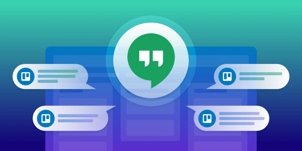 Trello adds Google Chat to their Boards