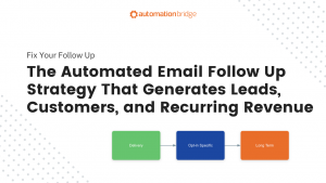 The Automated Email Follow Up Strategy That Generates Leads, Customers, and Recurring Revenue