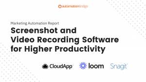 Screenshot and Video Recording Software for Higher Productivity